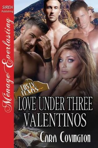 Review: Love Under Three Valentinos by Cara Covington